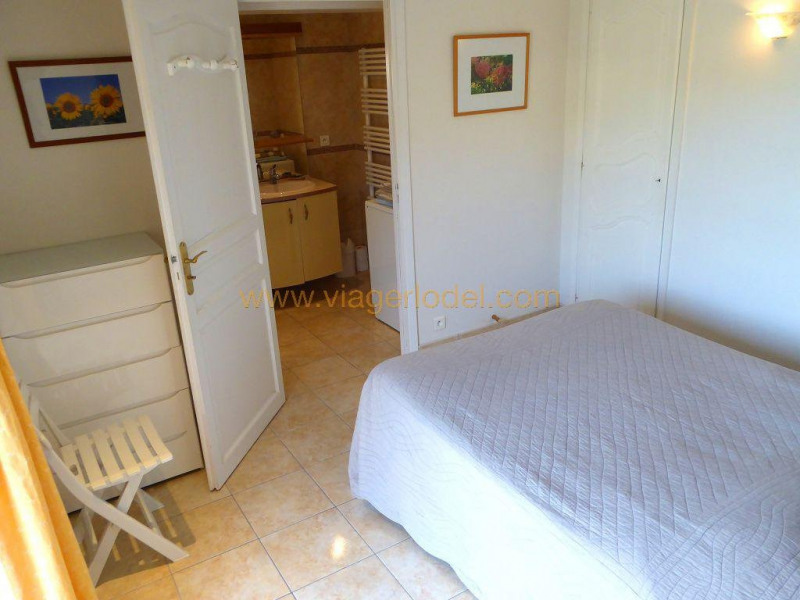 Vendita nell' vitalizio di vita casa Théoule-sur-mer 155000€ - Fotografia 7