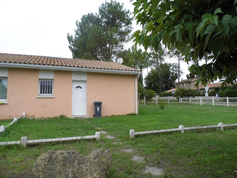 Rental house / villa Saint-selve 580€ CC - Picture 1
