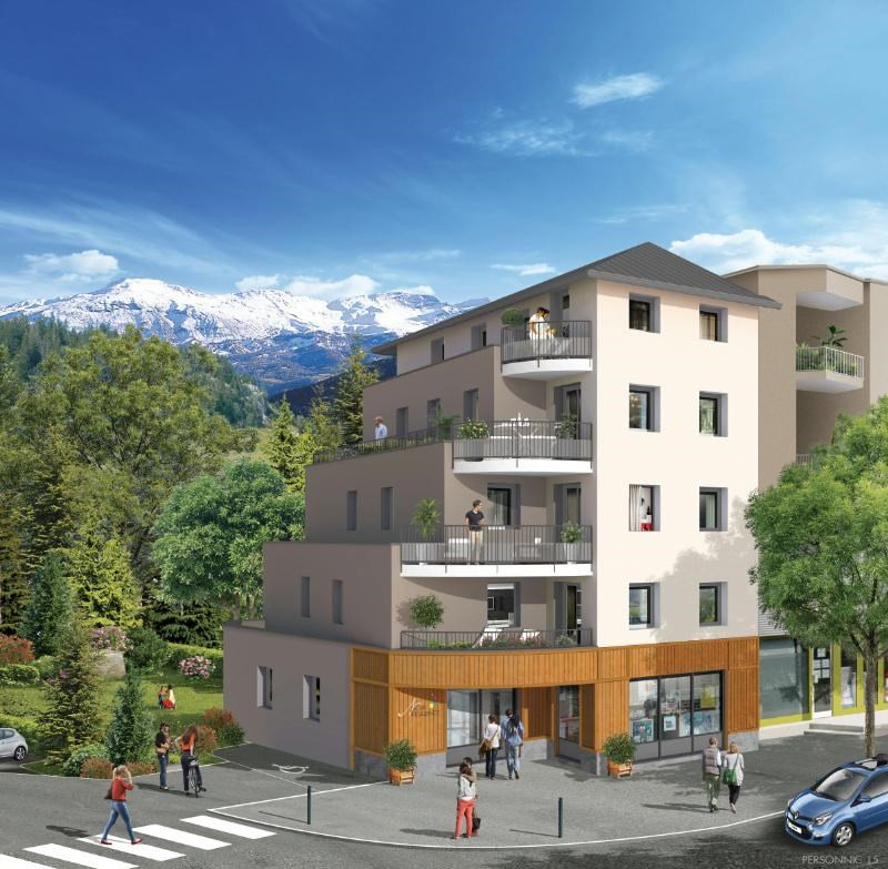 Nova r sidence programme immobilier neuf brian on for Residence immobilier