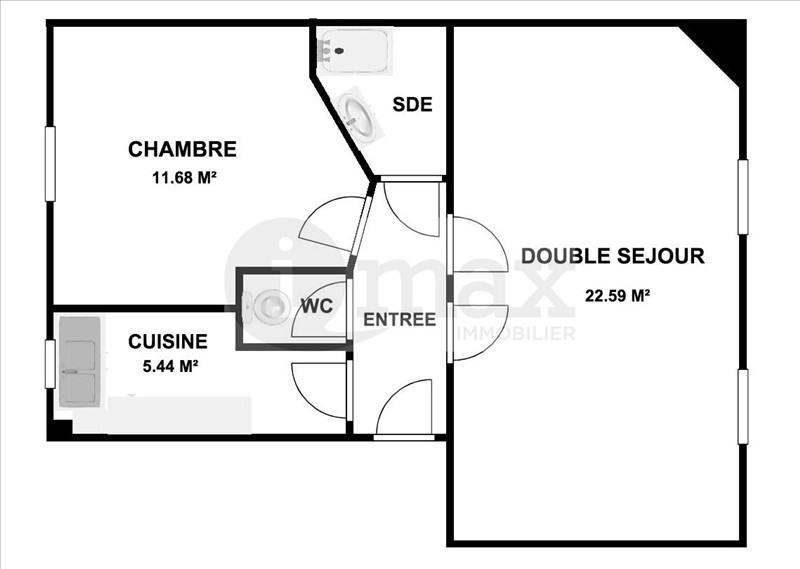 Sale apartment Courbevoie 355000€ - Picture 6