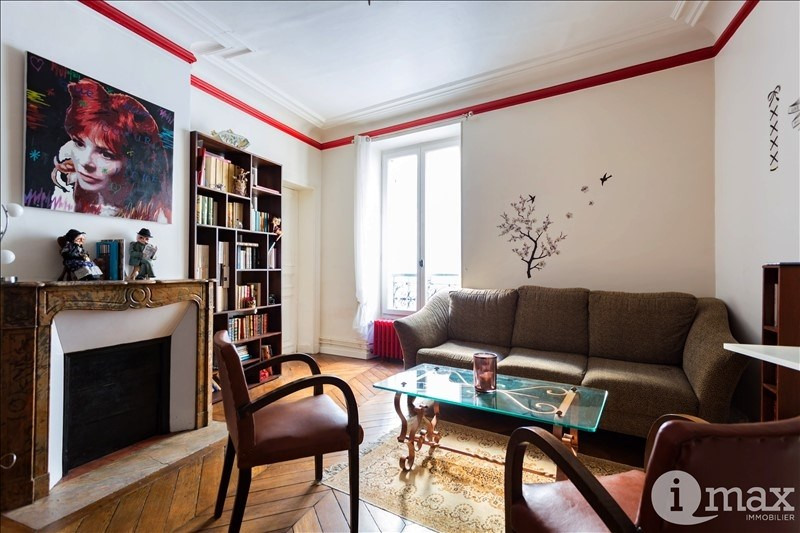 Sale apartment Paris 17ème 467 000€ - Picture 1