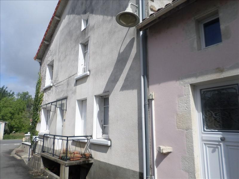 Vente maison / villa Mazerolles 50000€ - Photo 1
