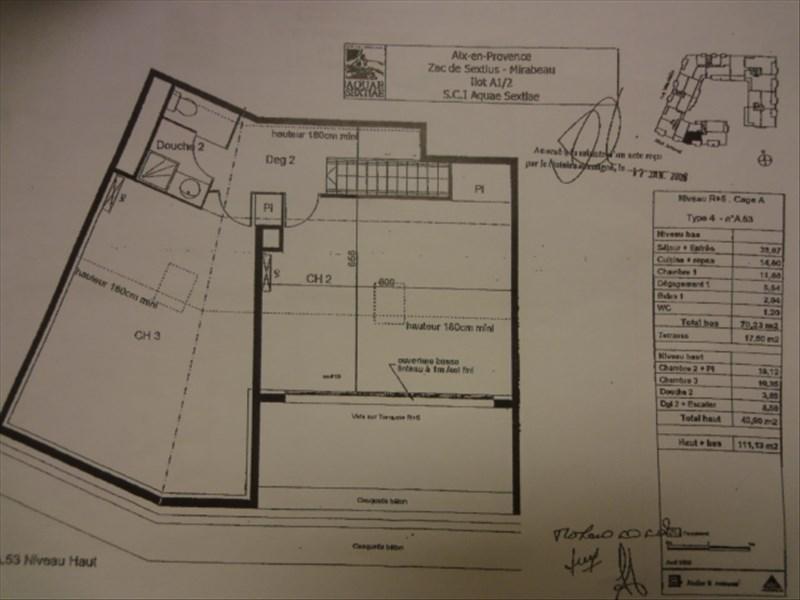 Verkoop van prestige  appartement Aix en provence 735000€ - Foto 8