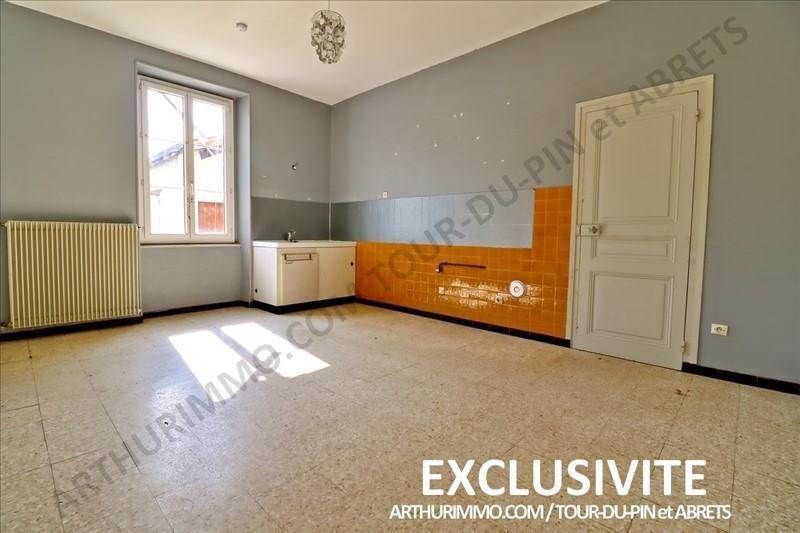 Vente maison / villa La tour du pin 129000€ - Photo 1