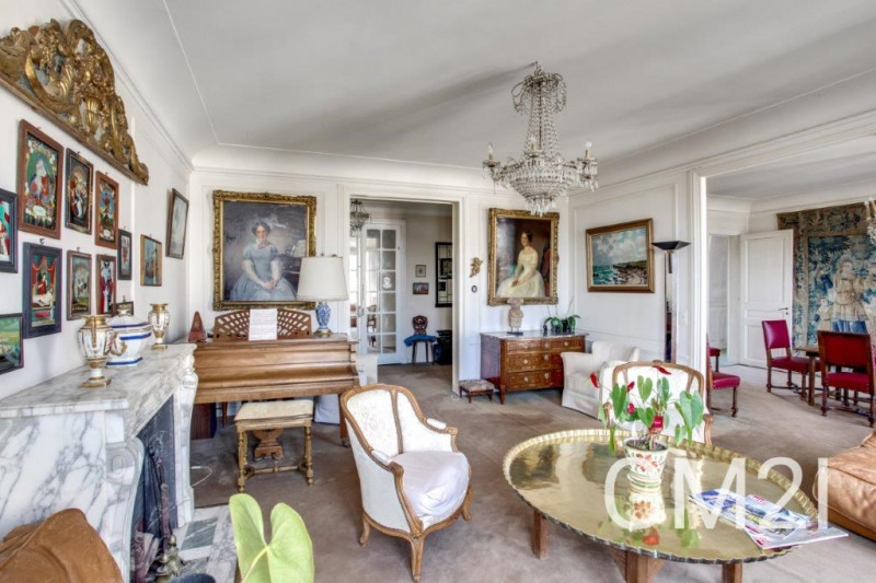 Vente de prestige appartement Paris 16ème 2100000€ - Photo 5