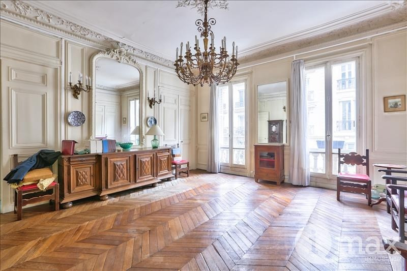 Deluxe sale apartment Paris 8ème 1450000€ - Picture 1