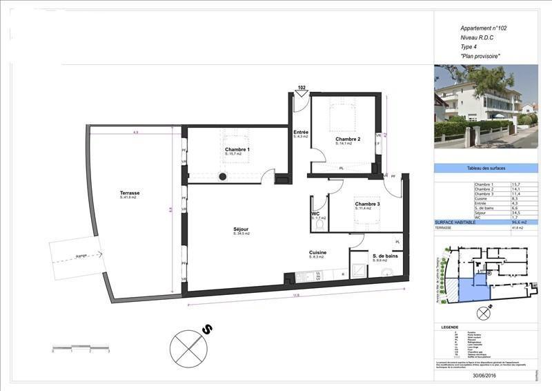 Vente appartement Capbreton 434000€ - Photo 2