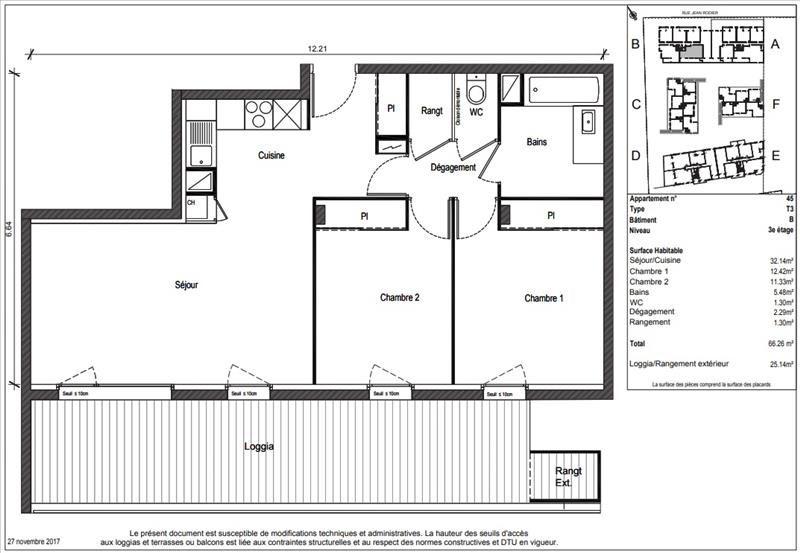 Vente appartement Toulouse 217900€ - Photo 8