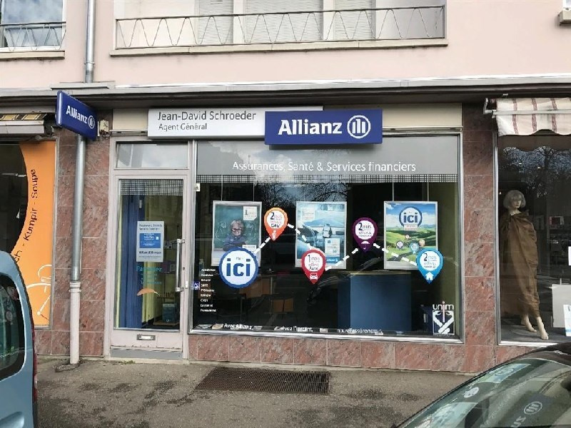 Location local commercial Colmar 750€ CC - Photo 1