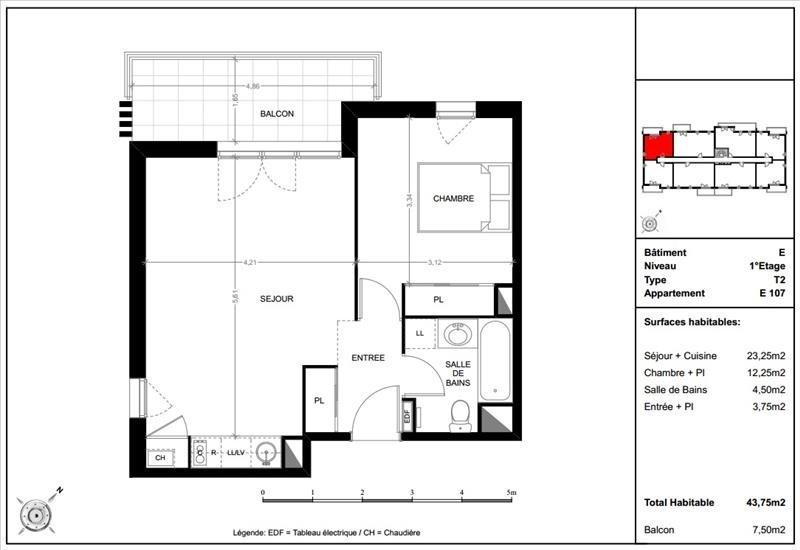 Vente appartement Toulouse 173000€ - Photo 9