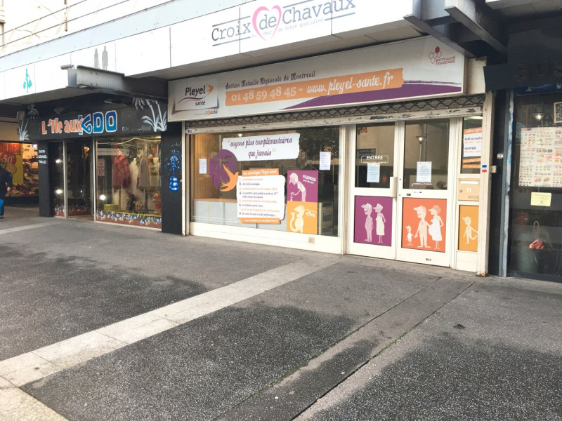 Rental shop Montreuil 2050€ CC - Picture 1