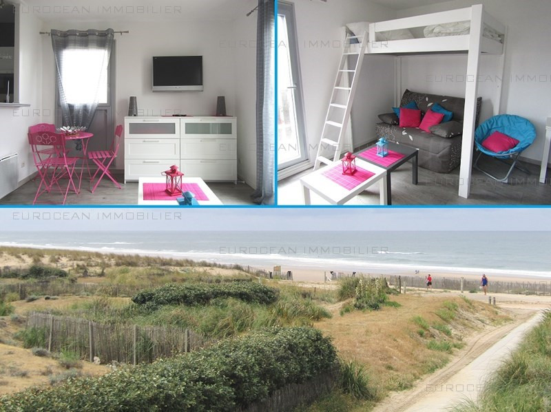 Vacation rental apartment Lacanau ocean 285€ - Picture 1