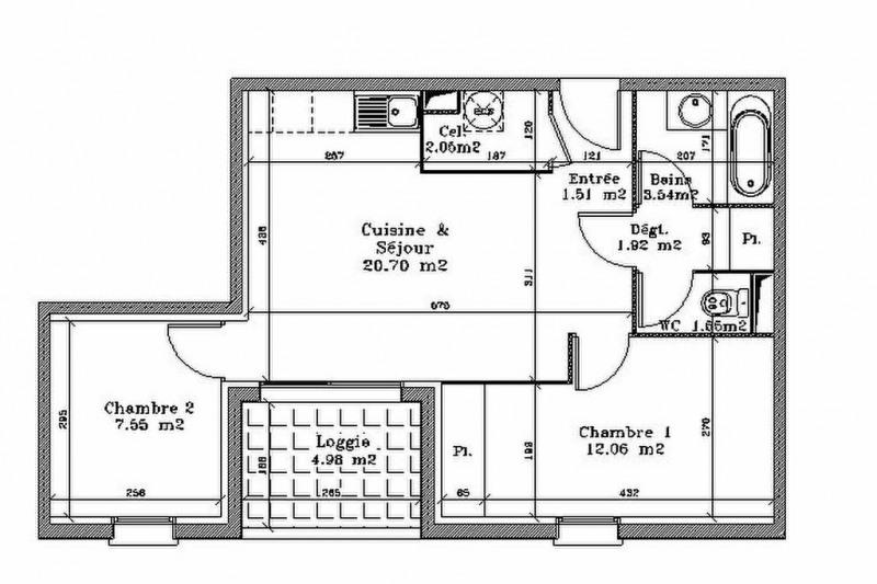 Vente appartement Aire sur l adour 94000€ - Photo 8