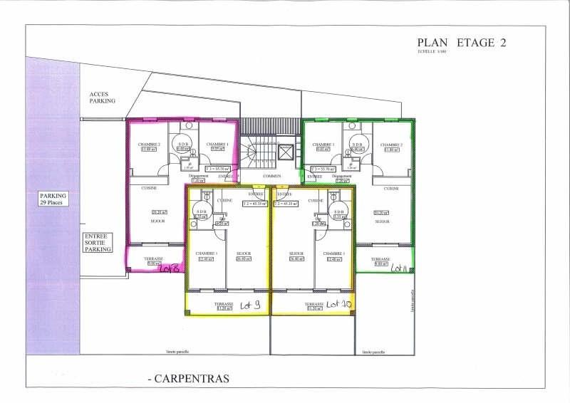 Vente appartement Carpentras 121500€ - Photo 1
