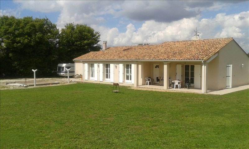 Vente maison / villa Tusson 183000€ - Photo 1