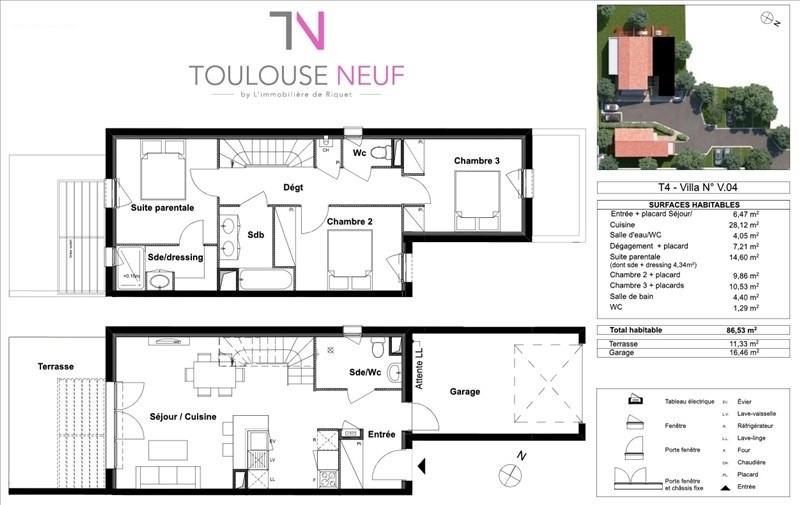 Vente maison / villa Tournefeuille 297900€ - Photo 6