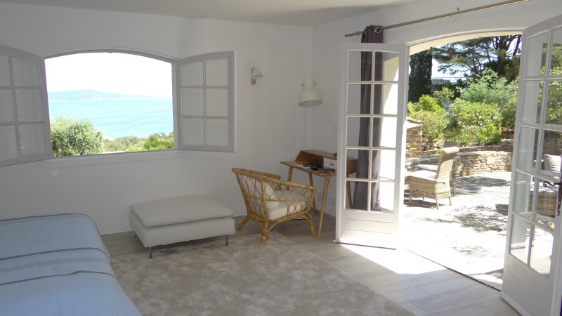 Vacation rental house / villa Cavalaire sur mer 3 500€ - Picture 14