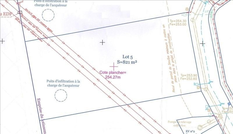 Sale site Roussillon 86000€ - Picture 1