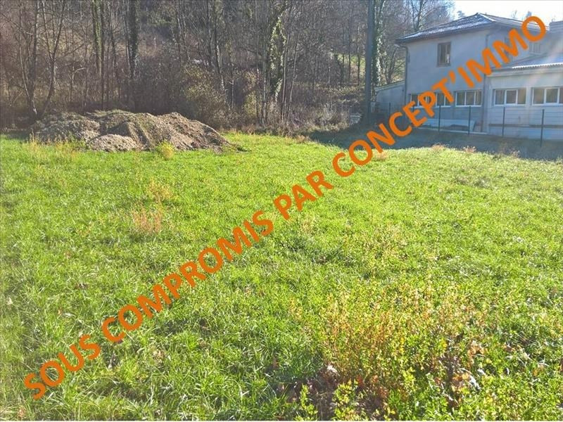 Sale site Ruffieux 82000€ - Picture 1
