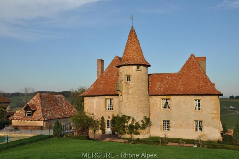 Vente de prestige château Pouilly sous charlieu 850000€ - Photo 1