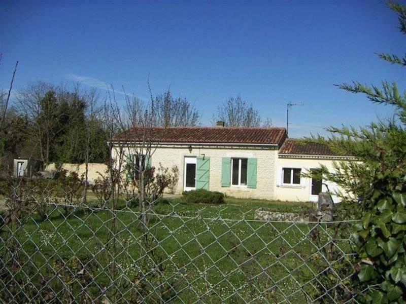 Sale house / villa Saint-jean-d'angély 102000€ - Picture 1