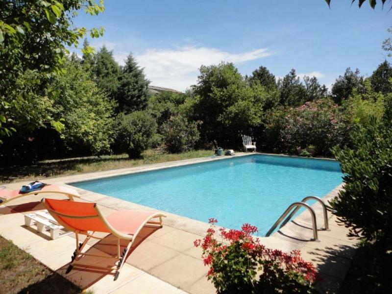 Vente maison / villa Entraigues sur la sorgue 380000€ - Photo 2