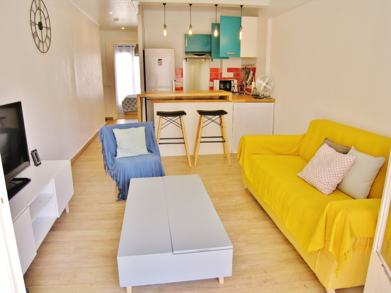 Location vacances appartement Antibes 430€ - Photo 1