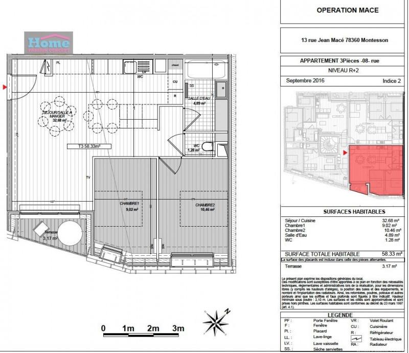 Sale apartment Montesson 315440€ - Picture 5