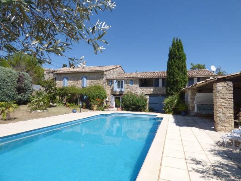 Immobile residenziali di prestigio casa Goudargues 579000€ - Fotografia 1