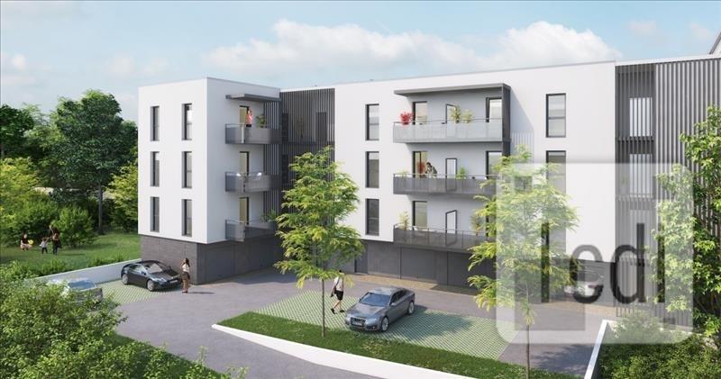 Vente appartement Nancy 226000€ - Photo 1