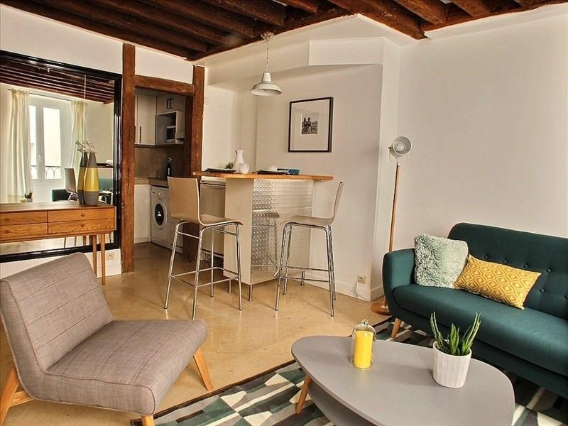 Rental apartment Paris 6ème 1450€ CC - Picture 2