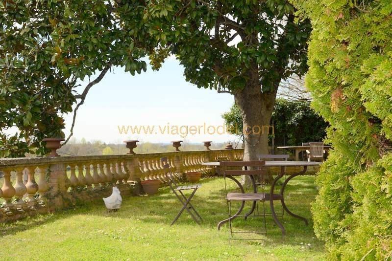 Vendita nell' vitalizio di vita casa Montricoux 335000€ - Fotografia 14