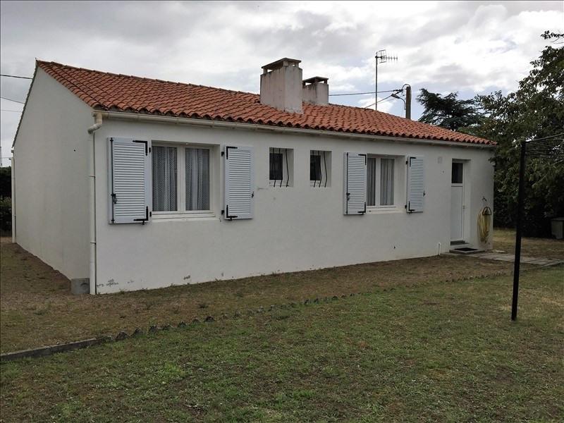 Sale house / villa St vincent sur jard 166400€ - Picture 2