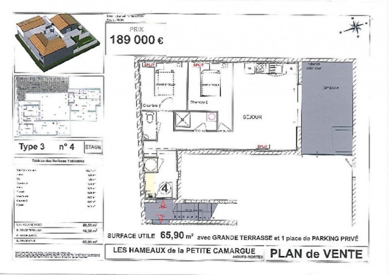 Vente appartement Aigues mortes 166000€ - Photo 4