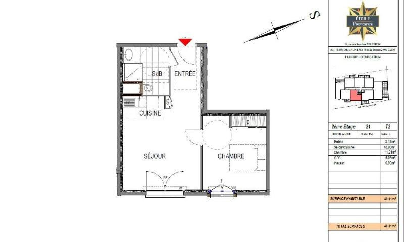 Location appartement Dijon 526€ CC - Photo 2