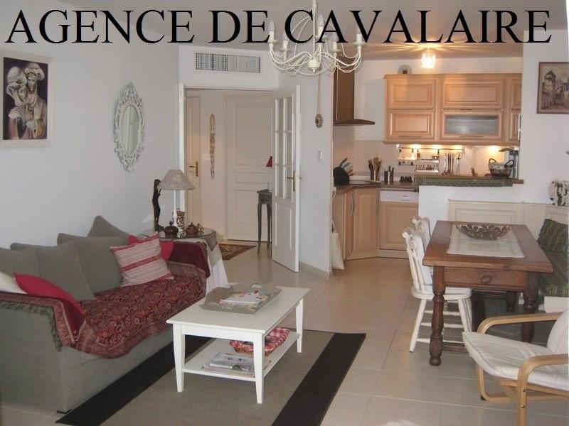Vente appartement Cavalaire sur mer 298000€ - Photo 1