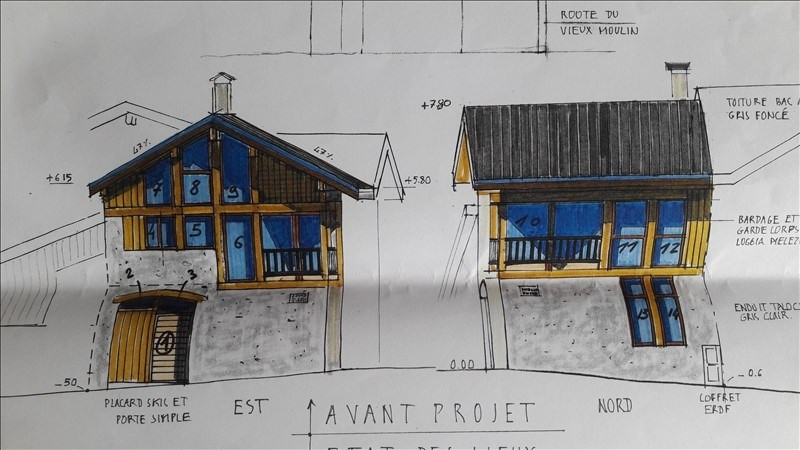 Vente maison / villa Peisey nancroix 59 000€ - Photo 2