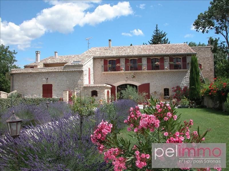 Vente de prestige maison / villa La barben 695000€ - Photo 2