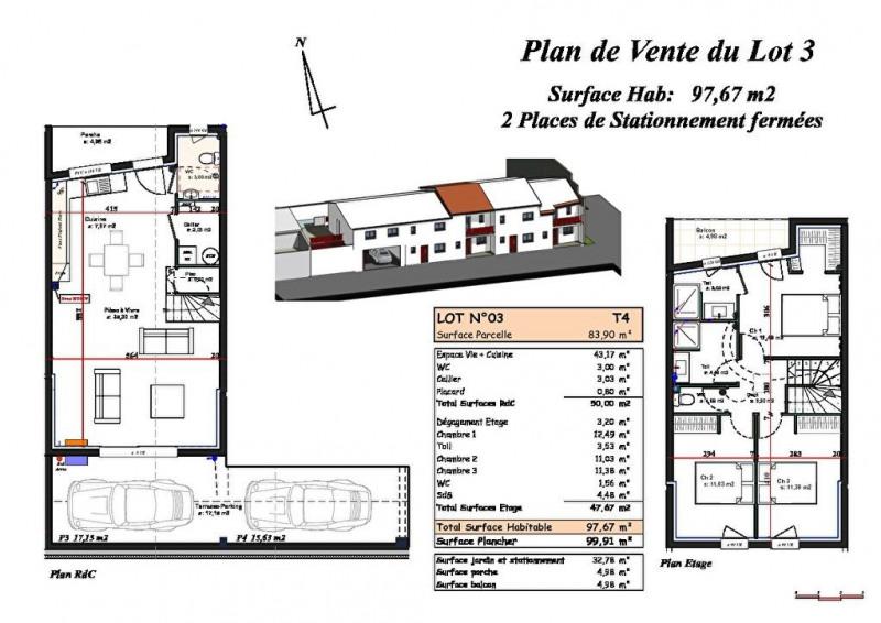 Vente maison / villa Biscarrosse plage 371000€ - Photo 1