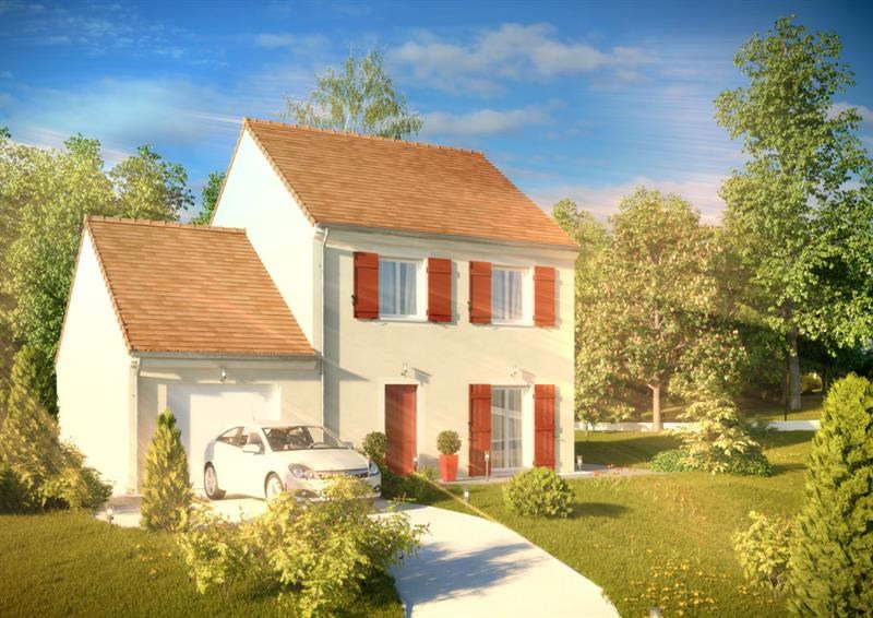 """Modèle de maison  """"Grand Nacre 3.093"""" à partir de 4 pièces Seine-Saint-Denis par A&A CONSEIL"""