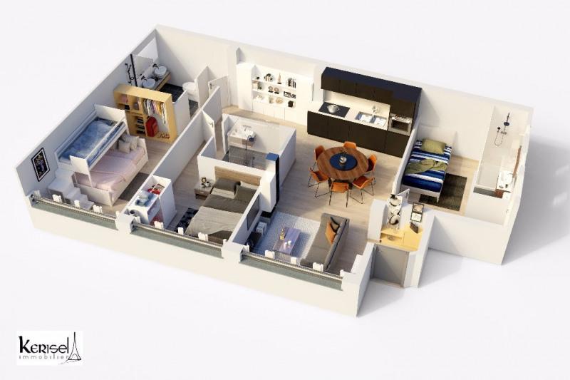 Vente appartement Paris 10ème 810000€ - Photo 1