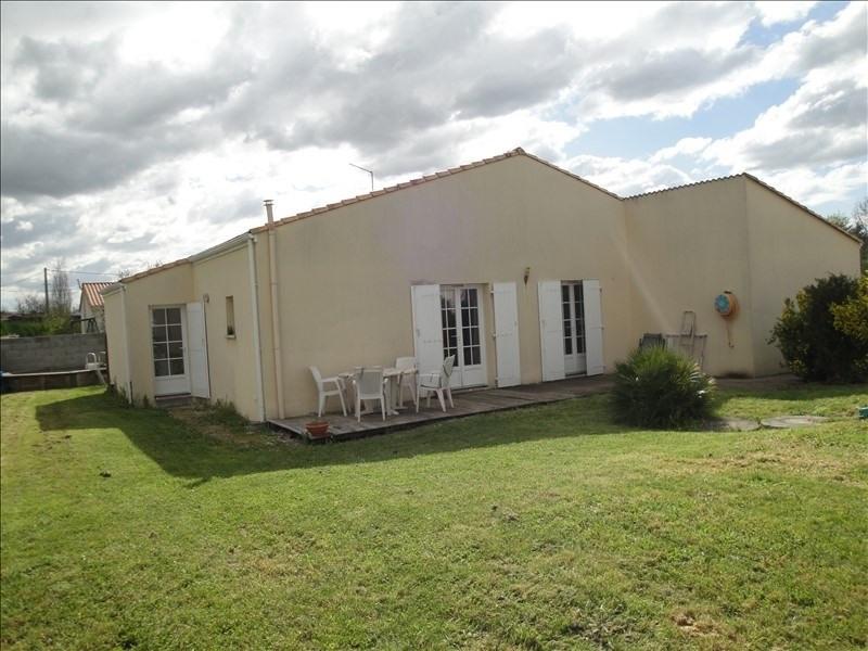 Investment property house / villa Mauze sur le mignon 374000€ - Picture 1