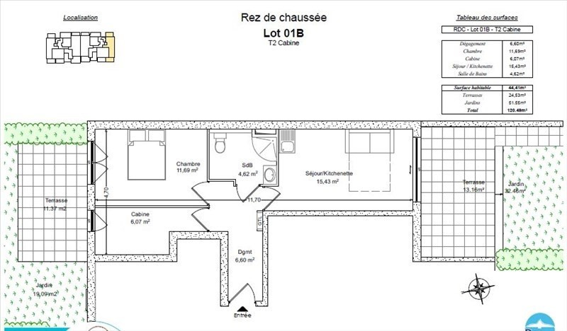 Deluxe sale apartment Bormes les mimosas 292 000€ - Picture 2