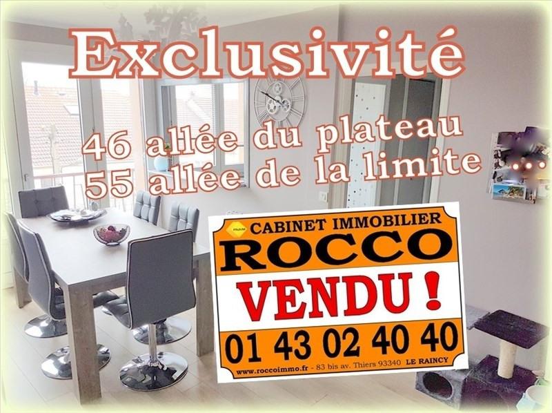 Sale apartment Le raincy 152000€ - Picture 1