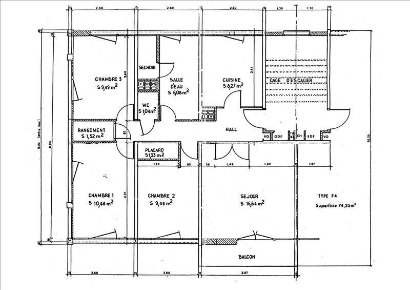 Vente appartement Palaiseau 185000€ - Photo 2