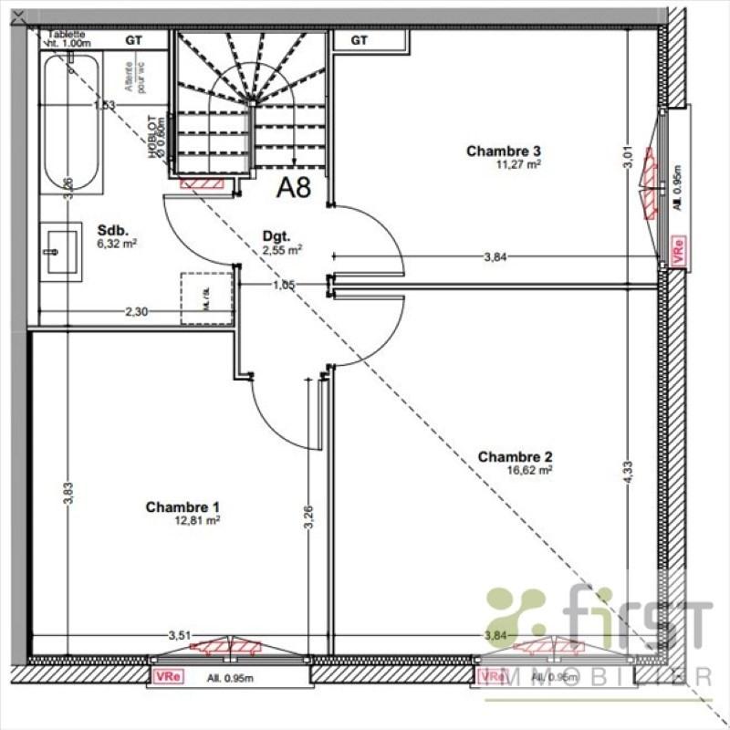 Sale house / villa Veigy foncenex 384500€ - Picture 5