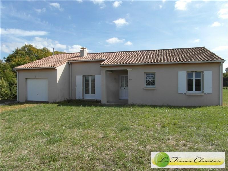 Vente maison / villa Aigre 118800€ - Photo 1