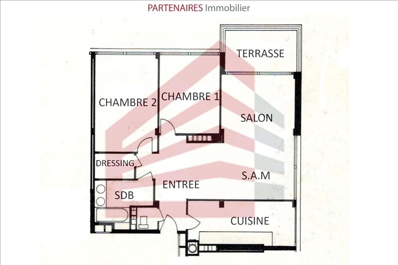 Vente appartement Rocquencourt 348000€ - Photo 7