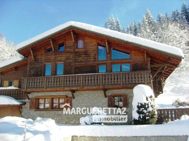 Vente maison / villa Les carroz d'arâches 898000€ - Photo 1