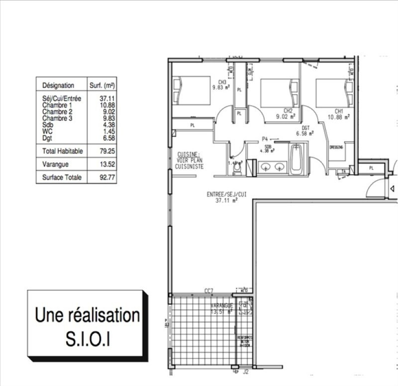 Sale apartment La possession 195 000€ - Picture 6